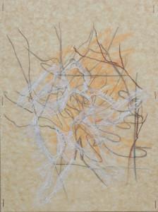 """""""It Breaks Me Up III"""" 2009, 37cm x 29.5cm, mixed media on paper"""