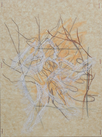 """It Breaks Me Up III"" 2009, 37cm x 29.5cm, mixed media on paper"